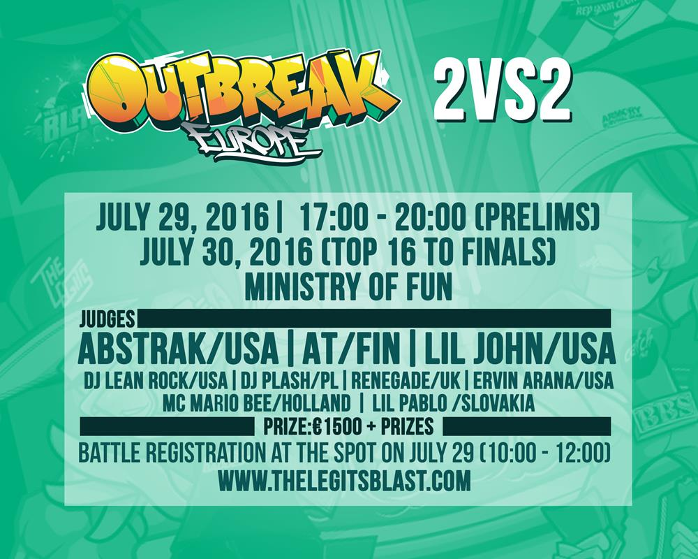 2vs2-Outbreak-Europe-2016